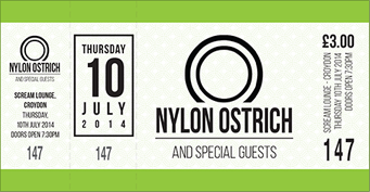 tickets for NYLON OSTRICH in London