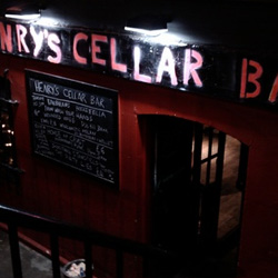 Henry's Cellar Bar edinburgh